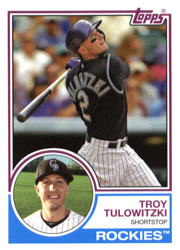 Photo of 2015 Topps Archives #238 Troy Tulowitzki