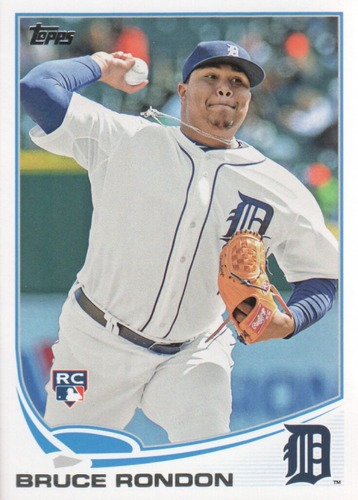 Photo of 2013 Topps Update #US315 Bruce Rondon RC