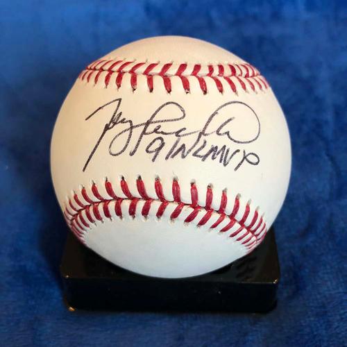 Photo of UMPS CARE AUCTION: Terry Pendleton Signed Baseball