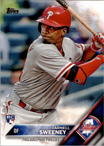 Photo of 2016 Topps #157 Darnell Sweeney RC