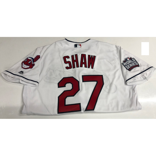 Photo of Bryan Shaw Team Issued 2016 World Series Home Jersey