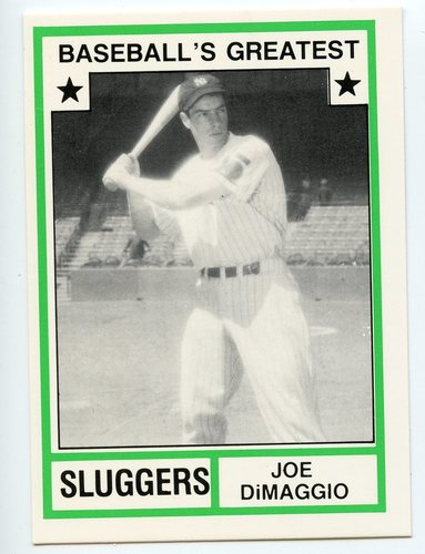 Photo of 1982 TCMA Greatest Sluggers #44 Joe Dimaggio