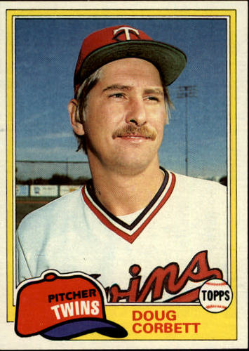 Photo of 1981 Topps #162 Doug Corbett RC