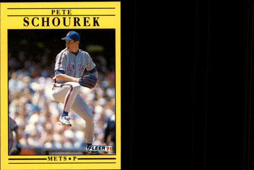 Photo of 1991 Fleer Update #104 Pete Schourek RC