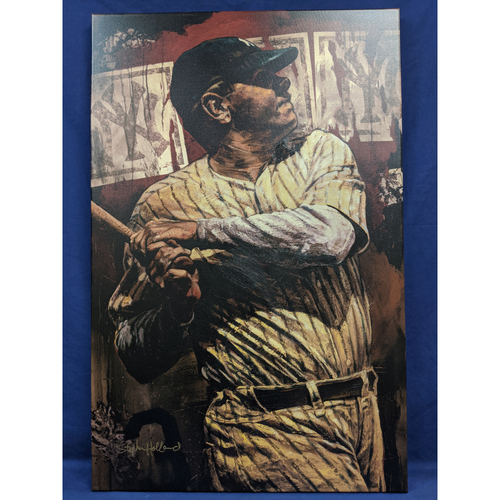 Photo of Babe Ruth Giclée Canvas by Stephen Holland