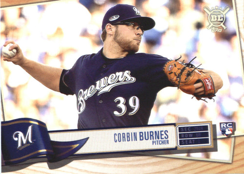 Photo of 2019 Topps Big League #292 Corbin Burnes RC