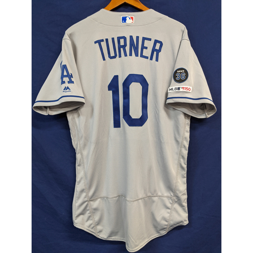 Photo of Justin Turner 2019 Team Issued Road Jersey