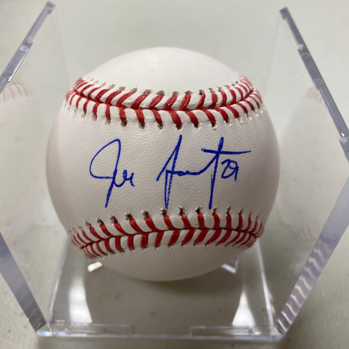 Photo of Autographed Baseball - Jeff Samardzija