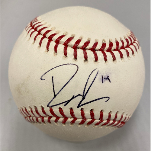 Photo of Giants Community Fund - Smudged Autographed Baseball signed by Ryder Jones