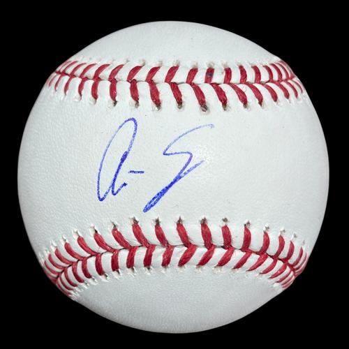 Photo of Ali Sánchez Autographed Baseball