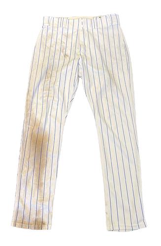 Photo of Ian Happ Game-Used Pants -- Size 35-39-33 -- Giants vs. Cubs -- 9/11/21