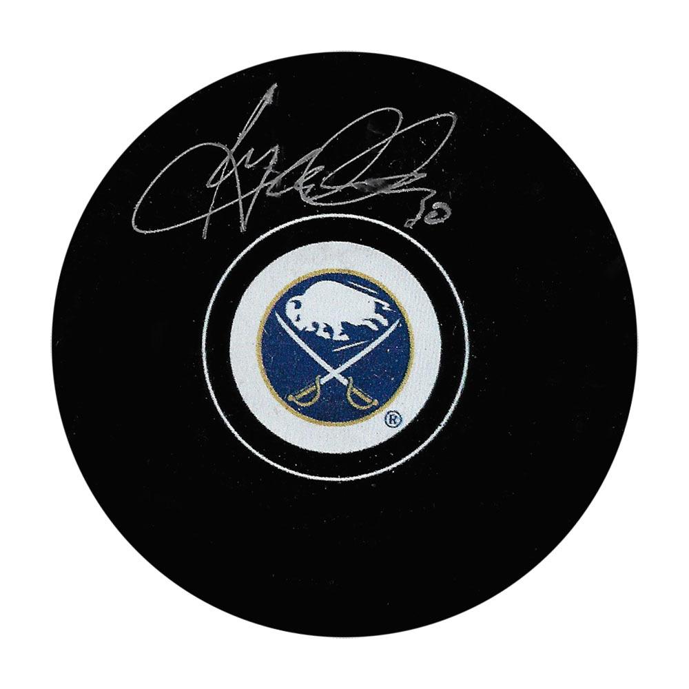 Ryan Miller Autographed Buffalo Sabres Puck