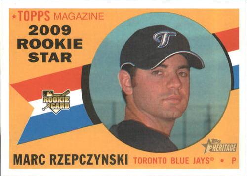 Photo of 2009 Topps Heritage #536 Marc Rzepczynski RC