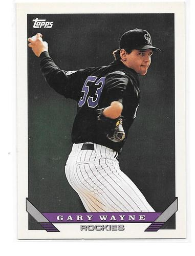 Photo of 1993 Topps Traded #16T Gary Wayne