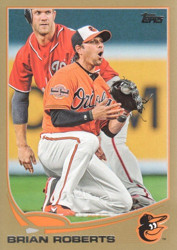 Photo of 2013 Topps Gold #515 Brian Roberts