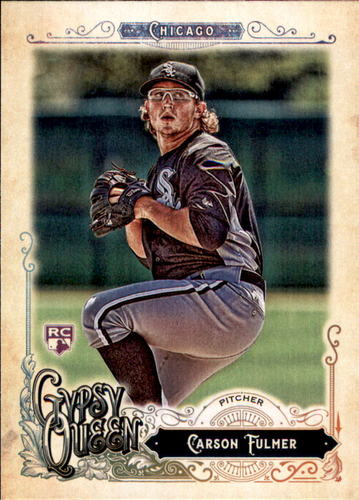 Photo of 2017 Topps Gypsy Queen #176 Carson Fulmer Rookie Card