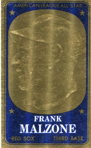 Photo of 1965 Topps Embossed #37 Frank Malzone