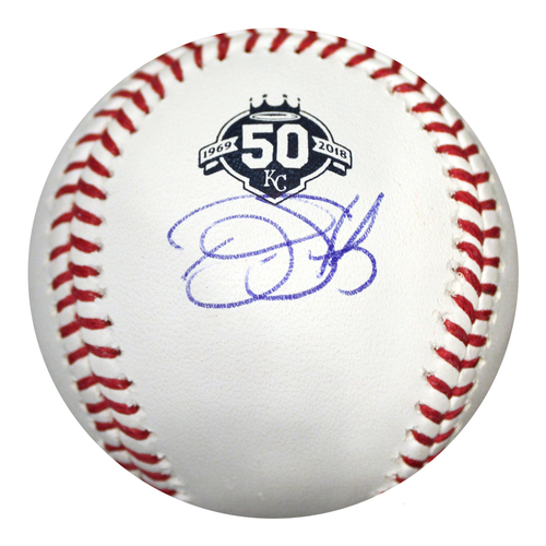 Photo of Autographed 50th Season Baseball: Bubba Starling