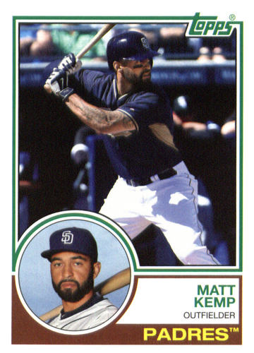 Photo of 2015 Topps Archives #240 Matt Kemp