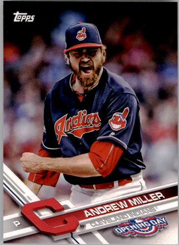 Photo of 2017 Topps Opening Day #52 Andrew Miller