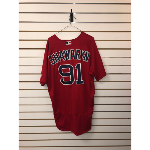 Photo of Mike Shawaryn Team-Issued 2019 Spring Training Jersey