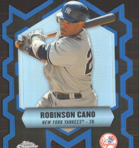 Photo of 2013 Topps Chrome Chrome Connections Die Cuts #CCRC Robinson Cano