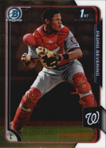 Photo of 2015 Bowman Chrome Prospects #BCP6 Pedro Severino