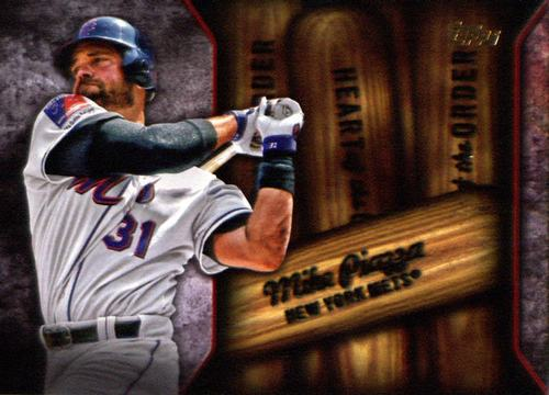 Photo of 2015 Topps Heart of the Order #HOR2 Mike Piazza