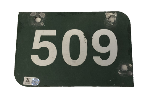 Photo of Wrigley Field Collection -- Aisle Marker 509 -- Removed after 2018 Season