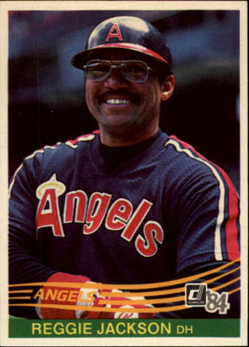 Photo of 1984 Donruss #57 Reggie Jackson