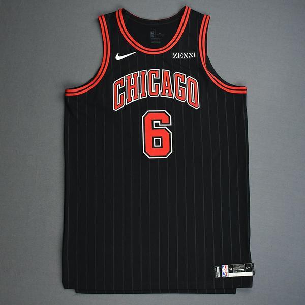 Image of Cristiano Felicio - Chicago Bulls - Game-Issued Statement Edition Jersey - 2019-20 Season