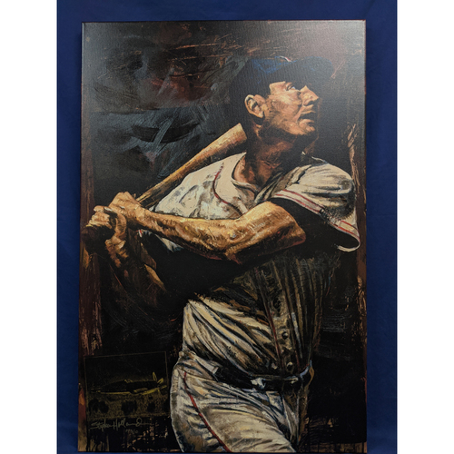 Photo of Ted Williams Giclée Canvas by Stephen Holland