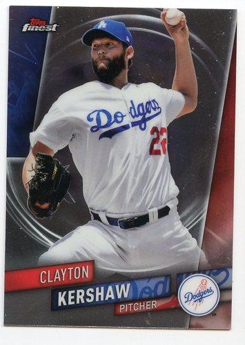Photo of 2019 Finest #23 Clayton Kershaw