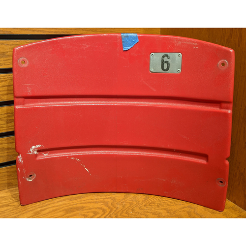 Fenway Park Red Right Field Box 89 Seatback #6