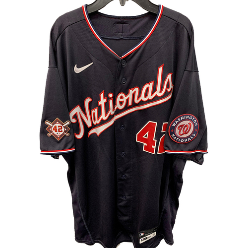Photo of Bob Henley - Jackie Robinson Day Game Used Jersey