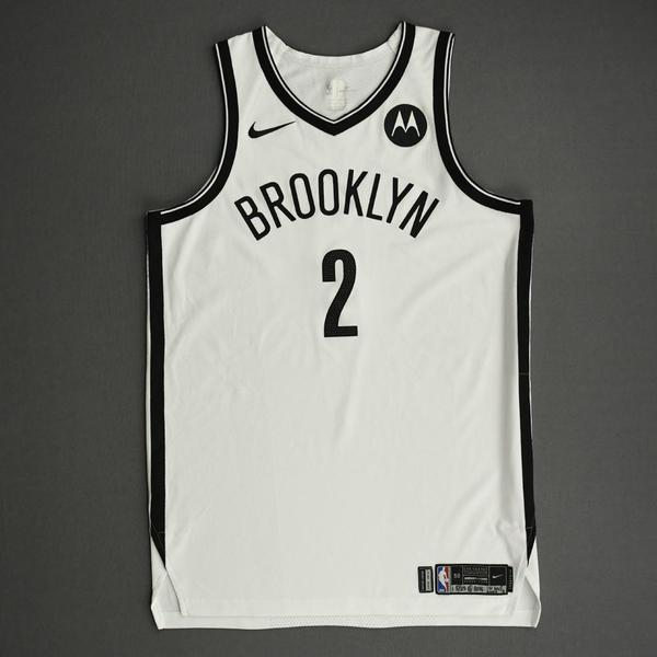 Image of Blake Griffin - Brooklyn Nets - Game-Worn Association Edition Jersey - 1st Half - 2021 NBA Playoffs