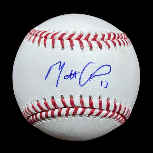 Matt Carpenter Autographed Baseball