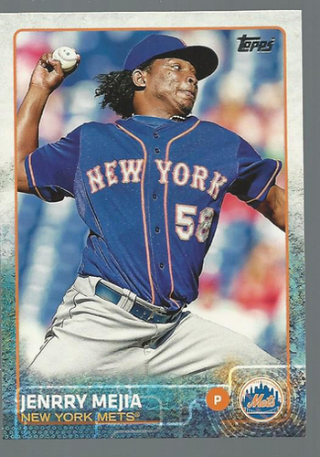 Photo of 2015 Topps #166 Jenrry Mejia