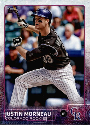 Photo of 2015 Topps #657 Justin Morneau
