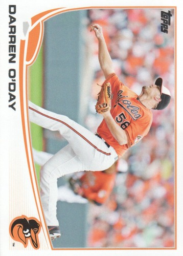 Photo of 2013 Topps Update #US260 Darren O'Day