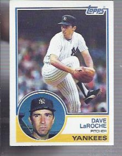 Photo of 1983 Topps #333 Dave LaRoche