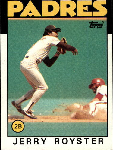 Photo of 1986 Topps #118 Jerry Royster