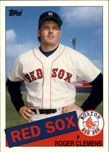 Photo of 2006 Topps Rookie of the Week #3 Roger Clemens 85