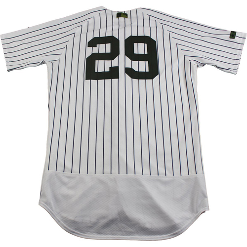 Photo of Tyler Clippard New York Yankees Game-Used #29 Memorial Day Weekend Pinstripe Jersey (5/28/2017) (42)