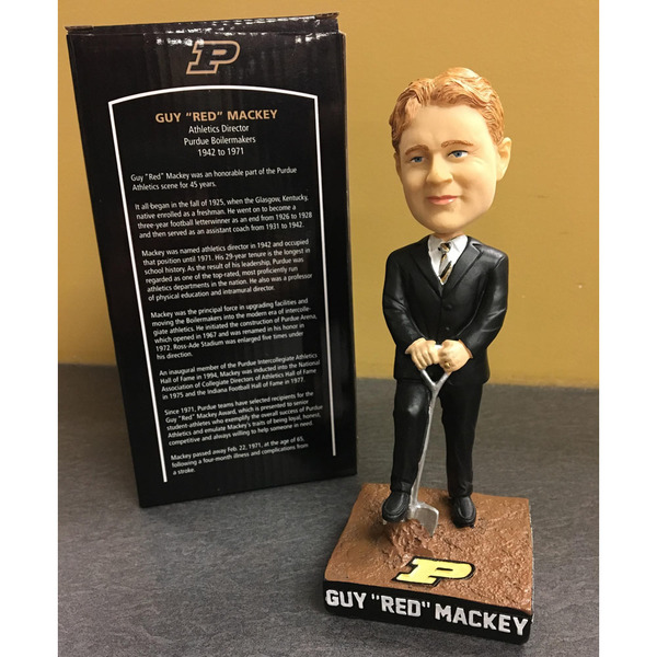 "Photo of Guy ""Red"" Mackey Bobblehead (B)"