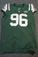 CRUCIAL CATCH - JETS MUHAMMAD WILKERSON GAME WORN JETS JERSEY (OCTOBER 8, 2017) SIZE 44