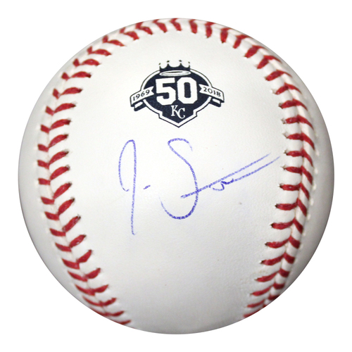Photo of Autographed 50th Season Baseball: Josh Staumont