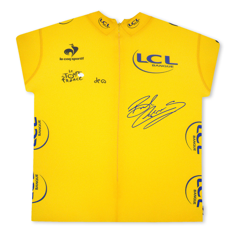 Bradley Wiggins Signed Tour de France Yellow Jersey