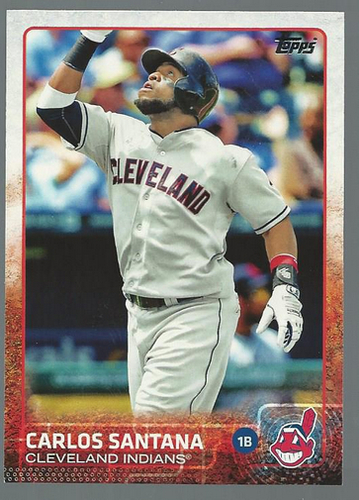 Photo of 2015 Topps #348 Carlos Santana