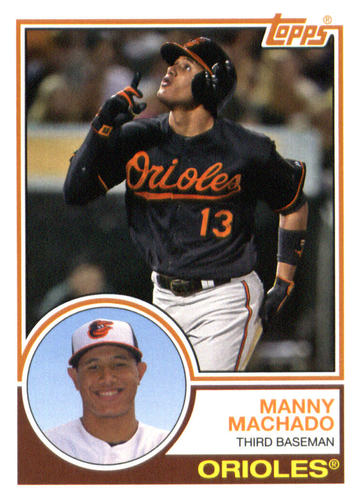 Photo of 2015 Topps Archives #242 Manny Machado